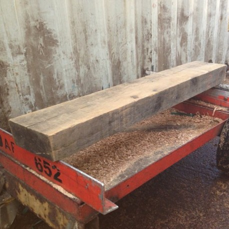 1220mm Sawn Oak Mantel Piece For Fireplace Surrounds