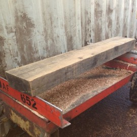 2140mm Sawn Rustic Oak Mantel Piece For Fireplace Surrounds