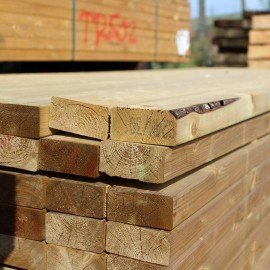 C16 Treated Carcassing Timber 47mm x 200mm