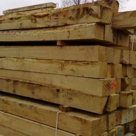 Rustic Oak Post