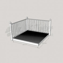 Patio Kit 1800mm x 1800mm