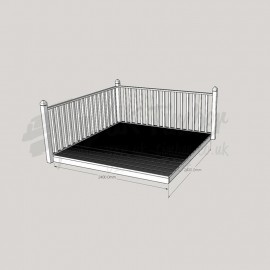 Patio Kit 1800mm x 2400mm