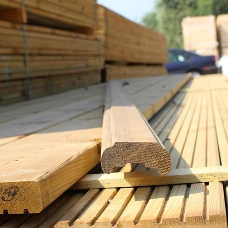 Treated Softwood Hand/base rail