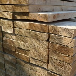 Green Treated English Softwood Decking Joists
