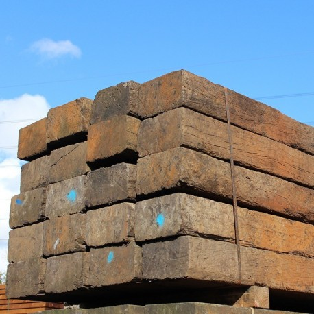 Untreated reclaimed tropical azobe hardwood sleepers buy for Selling reclaimed wood