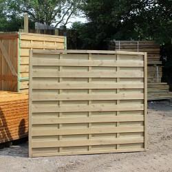 Horizontal Fence Panel