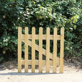 New Oak Picket Gate