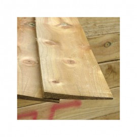 Treated Softwood Featheredge Boards