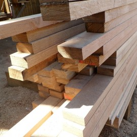 Oak Fence Rail