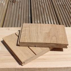 Mixed Width Solid European Oak Flooring