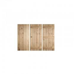 Ledged Oak Doors