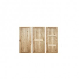 Framed and Ledged Doors