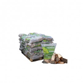 Pallet of Kiln Dried Firewood Bags
