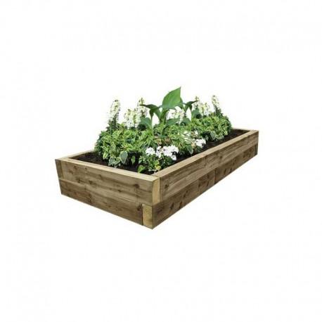 EasyFit Softwood Raised Bed 2525x1325