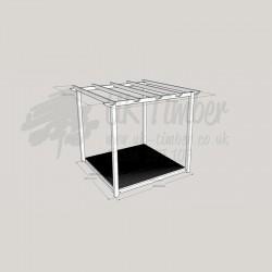 Garden Oasis - 1.8m2 Deck & 2.4m2 Pergola
