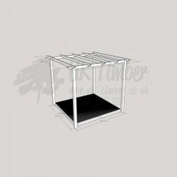Garden Oasis - 2.4m2 Deck & 3.0m2 Pergola