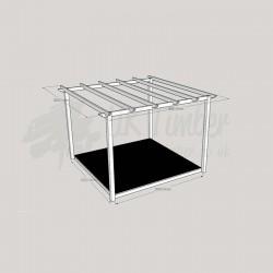 Garden Oasis - 3.0m2 Deck & 3.6m2 Pergola