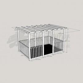 Ultima Terrace Plus - 2.4m x 3.6m Deck & 3.0m x 4.2m Pergola