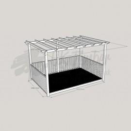 Ultima Terrace - 2. 4m x 3. 6m Deck & 3. 0m x 4. 2m Pergola.