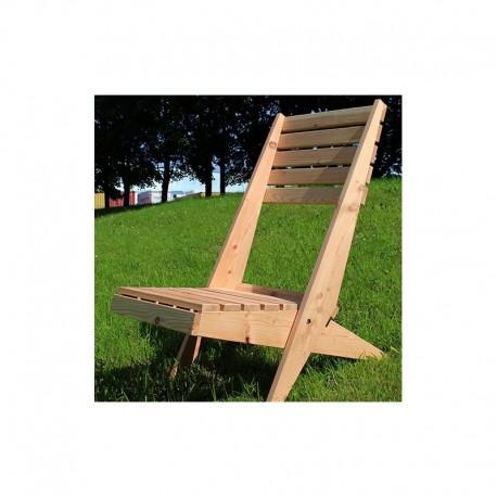 British Larch Garden Lazy Chair/Lounger