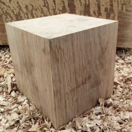 Solid Oak Cubes / Oak Beam Offcuts