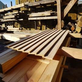 Economy Oak Featheredge Cladding