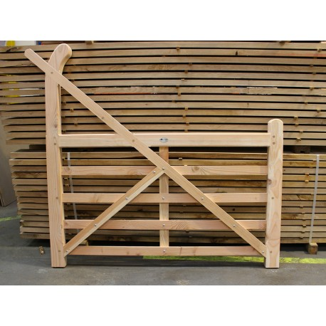 Untreated Larch Douglas Fir Curved Heel Ranch Gate Buy