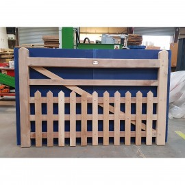 Oak Half Paled Gate - Pointed palings