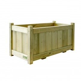 Green Treated Softwood Planter - Ema
