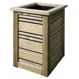 Green Treated Softwood Planter - Sicily
