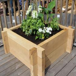 Heavyweight Oak Raised Bed Kit - Deep
