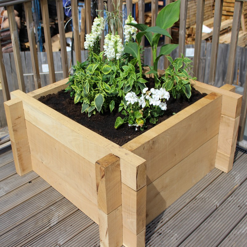 Heavyweight Oak Raised Bed Kit - Deep