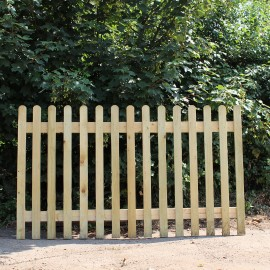 Treated Softwood Picket Panel