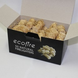 Ecofire - 50 Natural Firelighters
