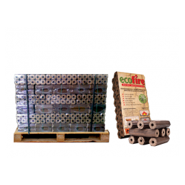 Ecofire High Density Hardwood Briquettes - Pallet - FREE NEXT DAY DELIVERY