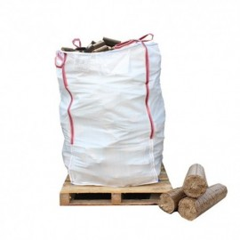 900kg Approx. Bulk Bag of Ecofire Mechanically Pressed Briquettes - FREE NEXT DAY DELIVERY