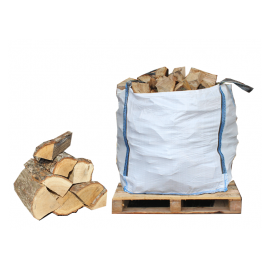 Kiln Dried Firewood Bulk Bag - FREE NEXT DAY DELIVERY