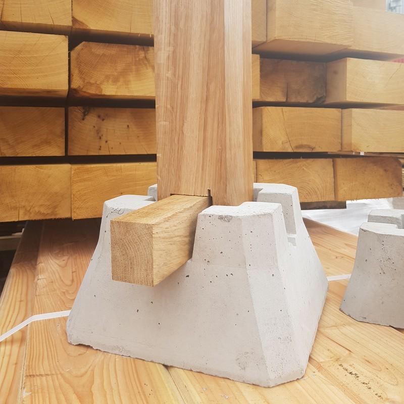 Concrete Deckin Blocks| Buy Decking Components Online from