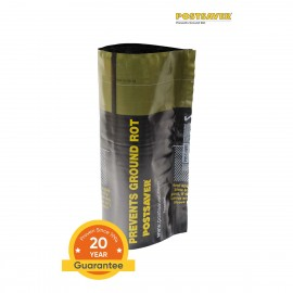 Pack of 10 Postsaver Ground Line Sleeves - Round