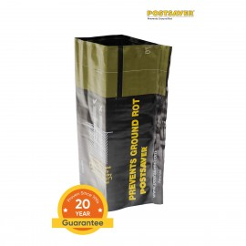 Pack of 10 Postsaver Ground Line Sleeves - Square