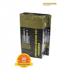 Pack of 10 Postsaver Ground Line Sleeves - Rectangle