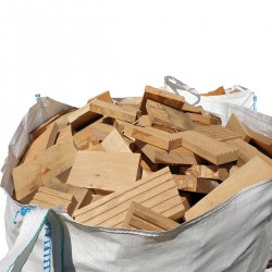 Extra Large Bulk Bag of Mixed Kiln and Air Dried Sawmill Offcuts - FREE LOCAL DELIVERY