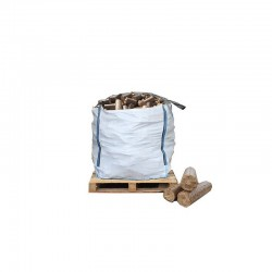 Bulk Bag of Ecofire Mechanically Pressed Briquettes - FREE DELIVERY