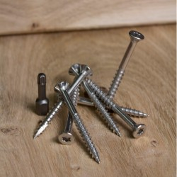 Timber Titan Stainless Steel Decking/Cladding Screws 50mm