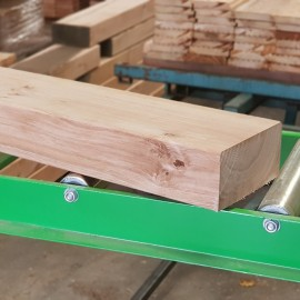 Pallet of PAR Untreated Oak Sleepers 190mm x 90mm - FREE EXPRESS DELIVERY