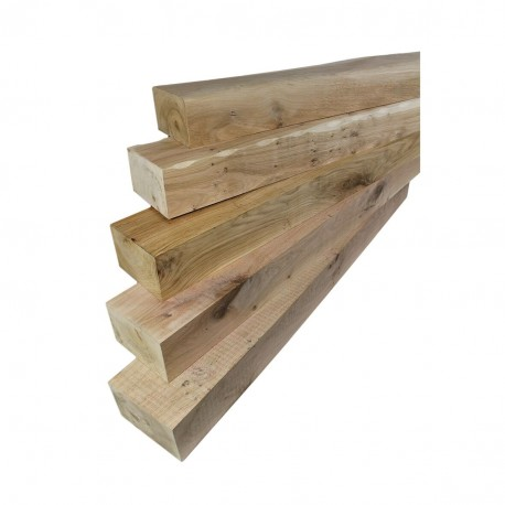 610mm Sawn Oak Mantel Piece For Fireplace Surrounds