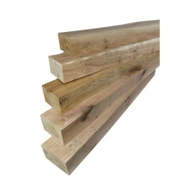 Sawn Rustic Oak Mantel Piece For Fireplace Surrounds (2140mm)