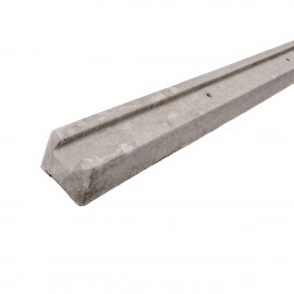 Concrete Slotted Intermediate Fence Post - Lightweight