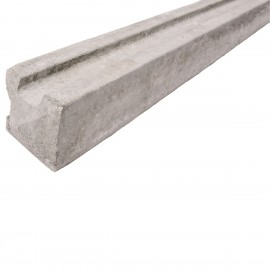 Concrete Slotted Corner Fence Post - Lightweight