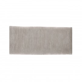"12"" Plain Concrete Gravel Board for Slotted Posts - Lightweight"